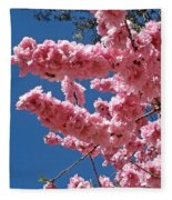 A Touch Of Spring Fleece Blanket