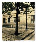 A Tree Grows In Barcelona Fleece Blanket