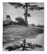 A Tree Stands Tall Fleece Blanket