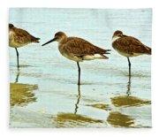 A Trio Fleece Blanket