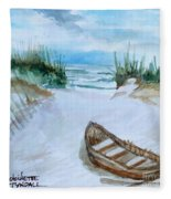 A Trip To The Beach Fleece Blanket