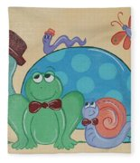 A Turtles Friends Fleece Blanket
