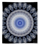 A Twist Of Silver 2 Fleece Blanket