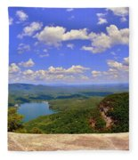 A View From Table Rock South Carolina Fleece Blanket