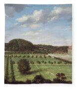 A View Of Bayhall - Pembury Fleece Blanket