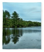A View Of The Lake Fleece Blanket