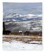 A View To Remember Fleece Blanket