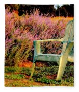 A Visit With Heather Fleece Blanket