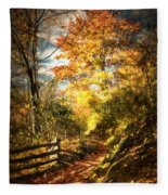 The Lighted Path Fleece Blanket