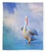 A Walk On Water Fleece Blanket