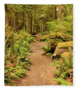 A Walk Through The Rainforest Fleece Blanket