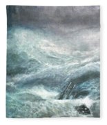 a wave my way by Jarko Fleece Blanket