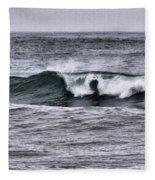 A Wave On The Ocean Fleece Blanket