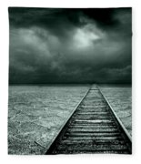 A Way Out Fleece Blanket