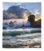 A Whisper In The Wind Fleece Blanket