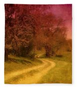 A Winding Road - Bayonet Farm Fleece Blanket