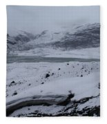 A World Without Colour Fleece Blanket