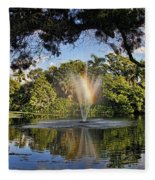 A Zen Oasis By H H Photography Of Florida Fleece Blanket