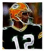 Aaron Rodgers - Green Bay Packers Fleece Blanket