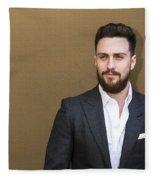 Aaron Taylor-johnson Fleece Blanket