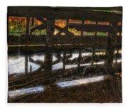Abandon Dock Fleece Blanket