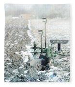 Abandon Plow Fleece Blanket