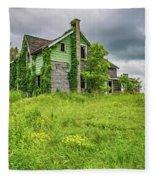 Abandoned Dreams 2 Fleece Blanket