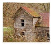 Abandoned Farmhouse In Kentucky Fleece Blanket
