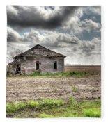 Abandoned House - Ganado, Tx Fleece Blanket