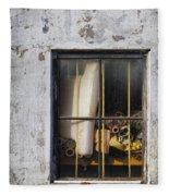 Abandoned Remnants Ala Grunge Fleece Blanket