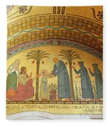 Abbey Mosaic Fleece Blanket