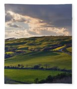 Abbotsbury - England Fleece Blanket