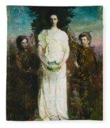 Abbott Handerson Thayer - My Children Fleece Blanket