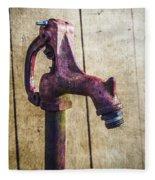 Abbott's Mill Water Spigot Fleece Blanket