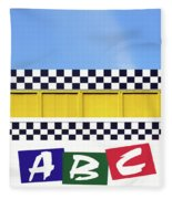 ABC Fleece Blanket