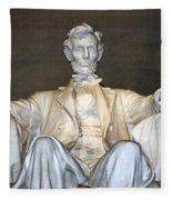 Abe Down To His Knees Fleece Blanket