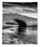 Aberffraw Bridge V2 Fleece Blanket