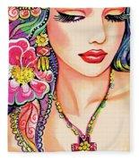 Abhilasha Fleece Blanket