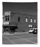 Abilene, Kansas - Cedar And 3rd II Fleece Blanket