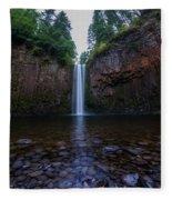 Abiqua Falls 2 Fleece Blanket
