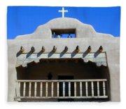 Abiquiu Church Number 2 Fleece Blanket
