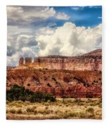 Abiquiu Landscape  Fleece Blanket