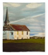 Abondoned Church Fleece Blanket