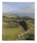 Above Coast Dairies Fleece Blanket