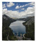 Above Echo Lake Fleece Blanket
