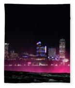 Above Niagara Fleece Blanket