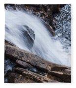 Above Small Falls Fleece Blanket