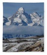 Above The Clouds Fleece Blanket