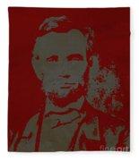 Abraham Lincoln The American President  Fleece Blanket