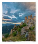 The Last Stronghold, Italy  Fleece Blanket